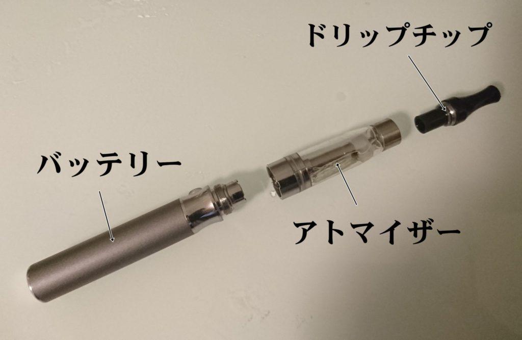 電子タバコ構造